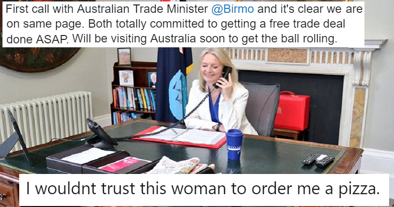 Liz Truss boasted about phoning Australia and got taken down (under) – our 11 favourite reactions
