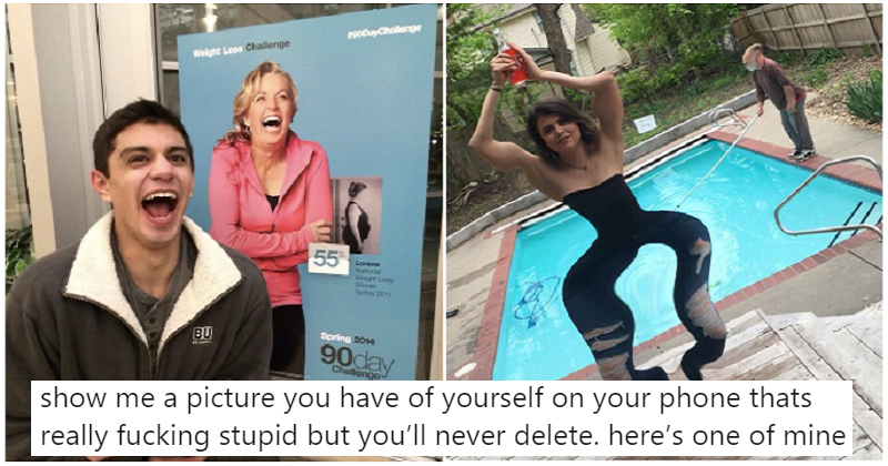 People are sharing the odd photos they'll never delete from their phones – the 17 best/worst