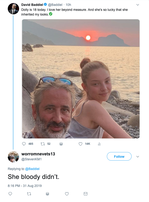 Simply 24 times David Baddiel took down the trolls, one hater at a time