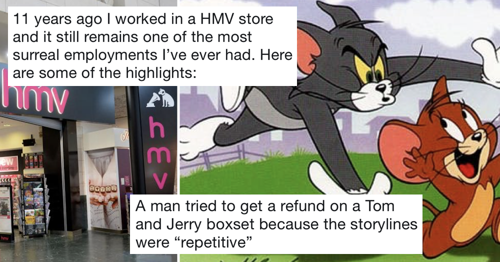 This woman's memories of working in an HMV are simply fabulous