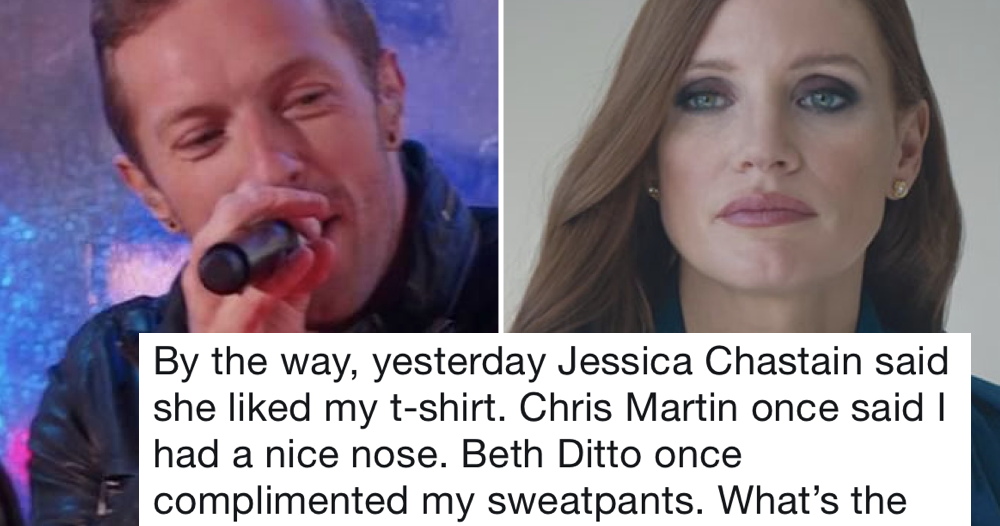 People are sharing the moments they were complemented by a celebrity – 31 encounters to remember