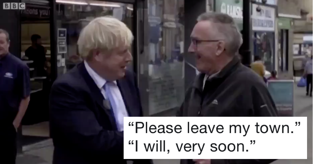 Boris Johnson has just been owned by the whole of Yorkshire and it's glorious