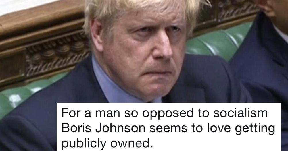 Simply 11 very funny jokes from Boris Johnson's worst week