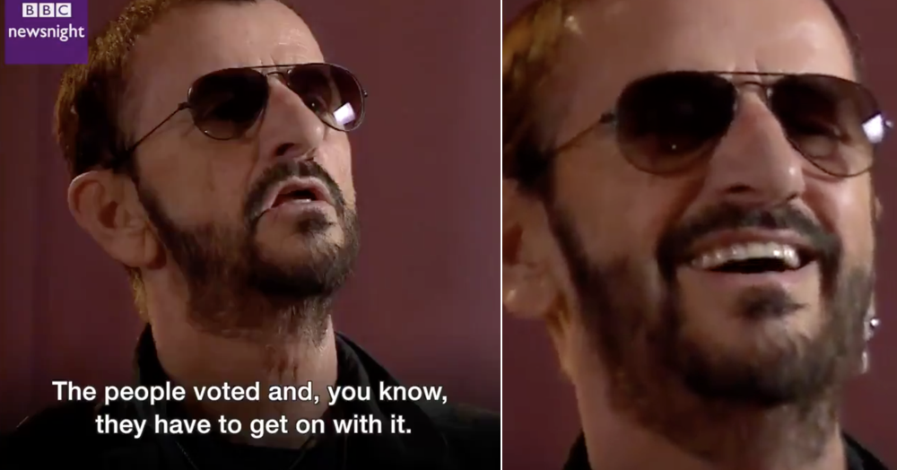 Ringo Starr's gone viral all over again with his pro-Brexit comments – the only 4 replies you need