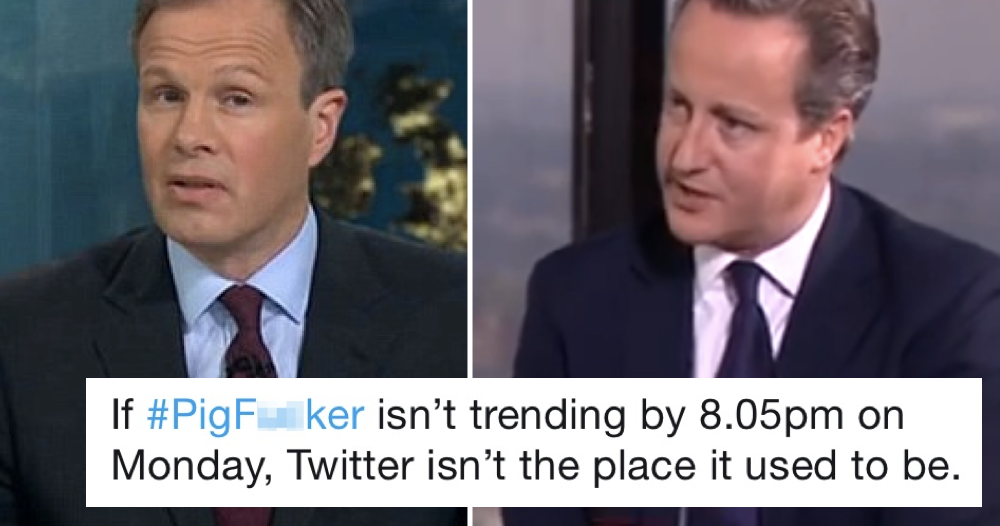 9 favourite things people are saying about ITV's David Cameron interview next week