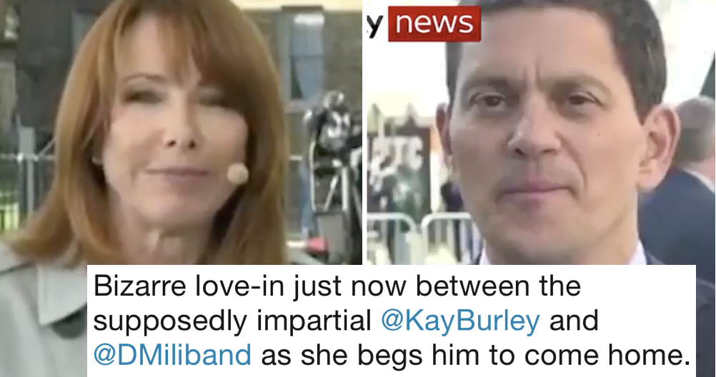 Kay Burley wasn't taking this troll lying down and people loved her for it