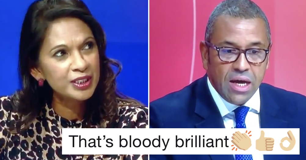 James Cleverly being caught out on Question Time is a very satisfying watch