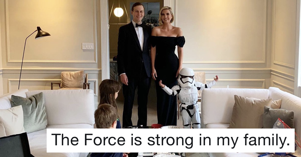 Ivanka Trump tried to quote Star Wars and Mark Hamill had the perfect response