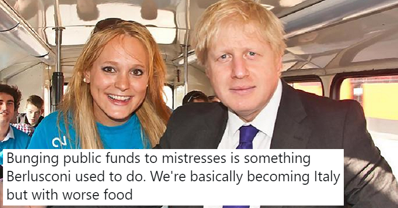 "Boris Johnson dodged questions about funding awarded to his ""friend"" – 7 cutting responses"