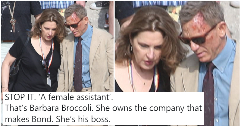 The Daily Mail's Bond photo caption screams everyday sexism - the only 6 reactions you need