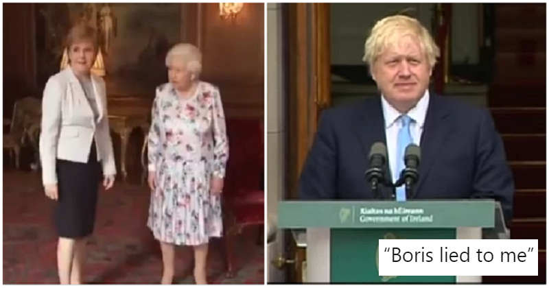 Janey Godley hilariously imagined the Queen and Nicola Sturgeon discussing Boris Johnson