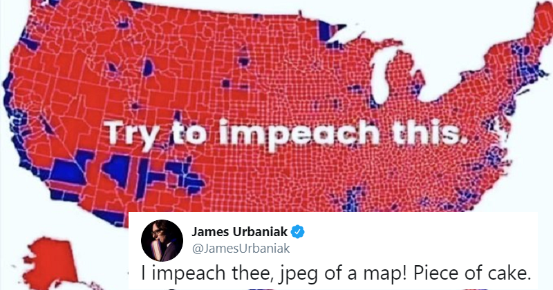 Lara Trump's attempt to own the Libs with a map backfired horribly
