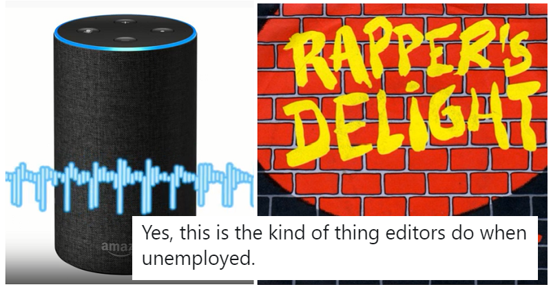 Siri, Alexa and Google Assistant performing Rapper's Delight is far better than it should be