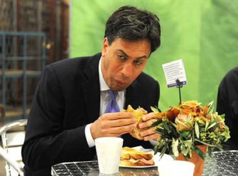 A journalist claimed people would attack the PM for eating a sandwich and the irony was off the scale