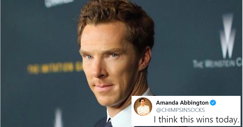 The curious incident of the perfect Benedict Cumberbatch joke