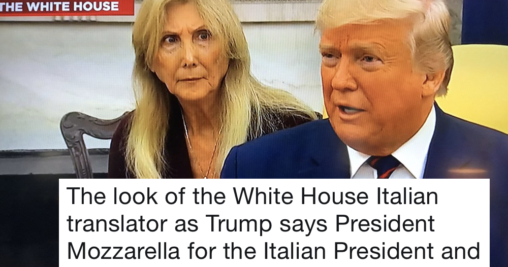 The Italian translator trying to make sense of Donald Trump is all of us, all of the time