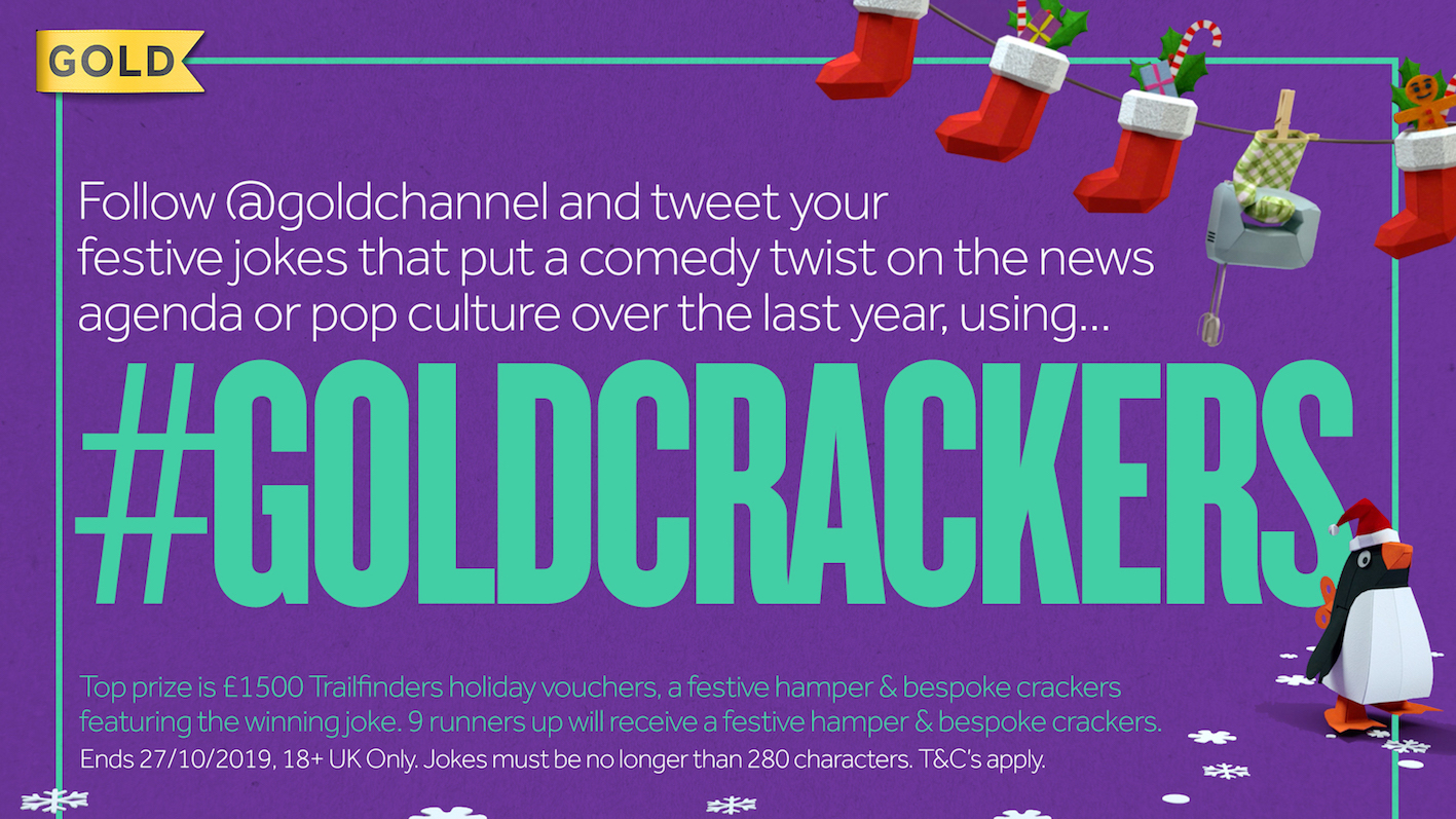 Wanted! Your topical funnies for Gold's annual Christmas Crackers competition #ad