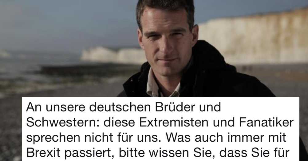 Dan Snow had the perfect response to Leave EU's outrageous xenophobia