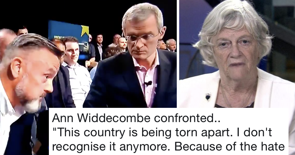 This man's 12-second takedown of Ann Widdecombe spoke for the nation