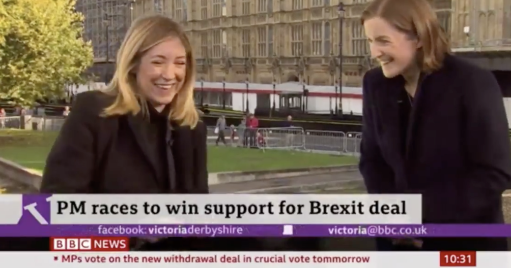 This BBC presenter introduced her colleague as 'Sarah Jessica Parker' and it's our favourite TV moment of the week