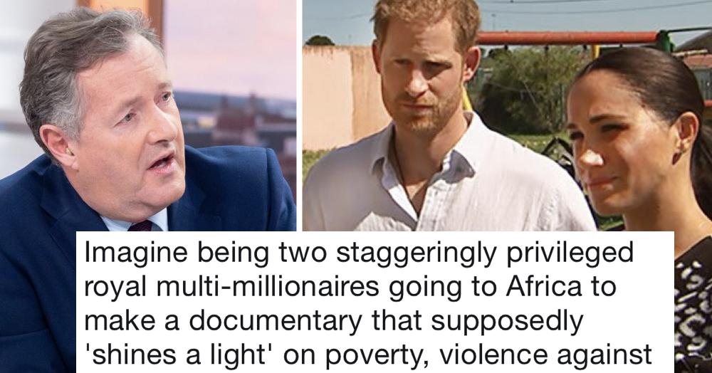 Dan Walker had the perfect response to Piers Morgan's trolling of Meghan Markle and it burned, it really burned