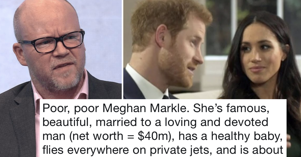 Toby Young's been trolling Meghan Markle and this is the only reply you need