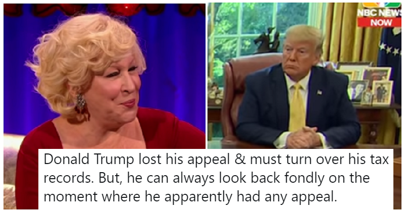 11 times Bette Midler absolutely skewered Trump on Twitter
