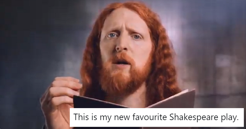 Shakespeare's King Lear as you've never seen it before – in less than a minute