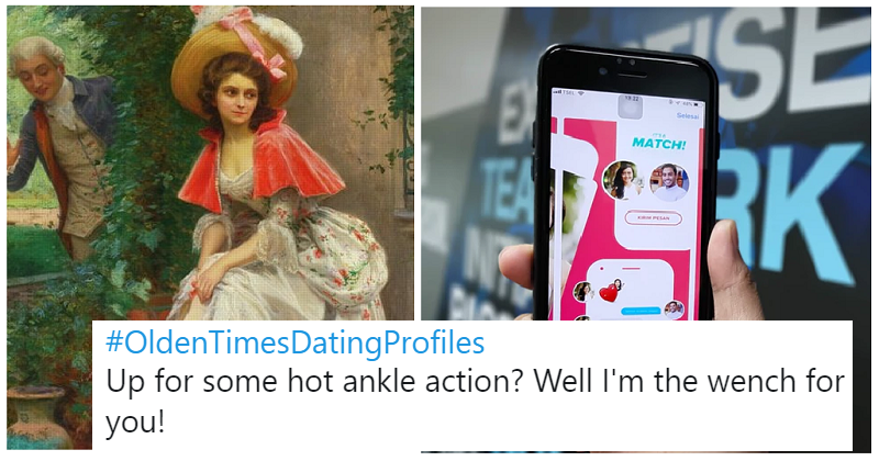 "21 very funny ""olden times dating profiles"""