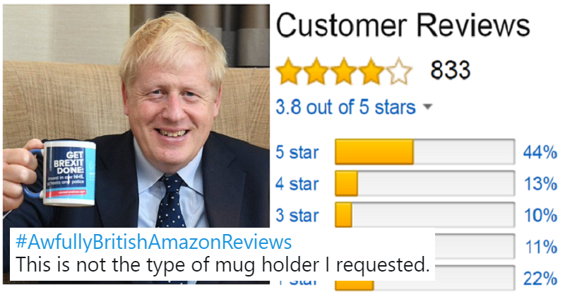 Simply 15 very funny awfully British Amazon reviews