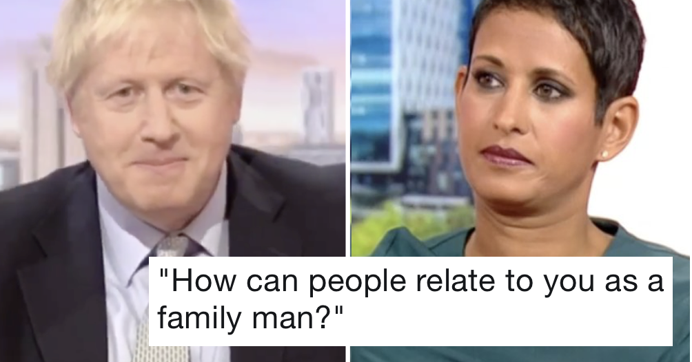Naga Munchetty asked Boris Johnson how ordinary families can relate to him and his answer speaks volumes