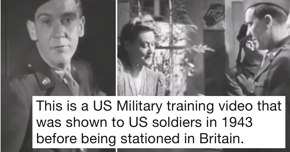 This Video Was Made To Teach American Soldiers How To Behave In British Pubs