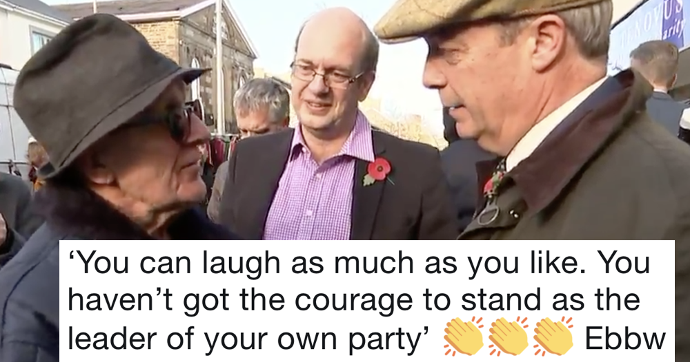 This straight-talking Welshman's takedown of Nigel Farage is simply glorious