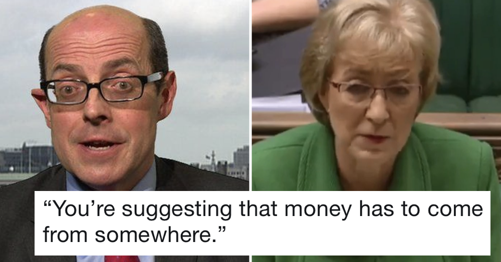 Andrea Leadsom doesn't understand where money comes from during BBC interview – only 4 replies you need