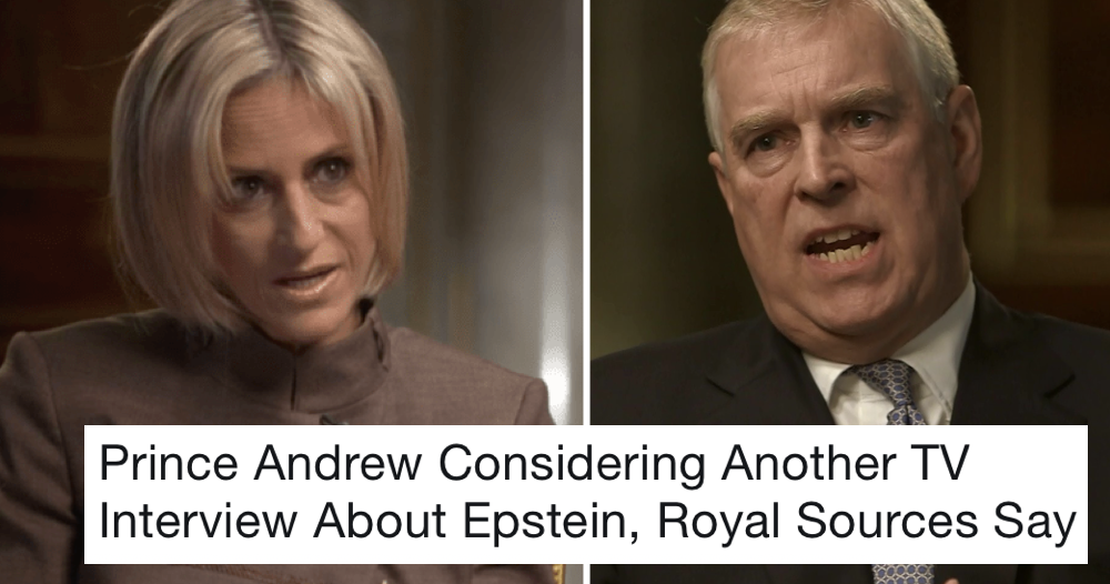 Prince Andrew's said to be planning a second TV interview – only 9 responses you need