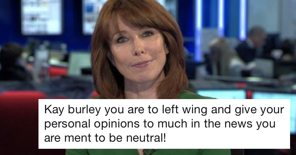 Kay Burley's takedown of this troll was 10/10