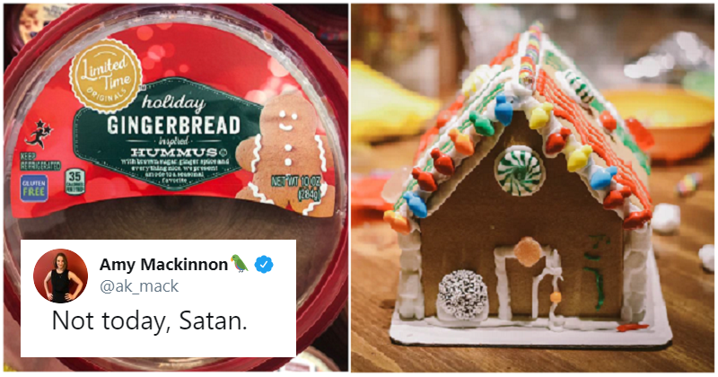 Christmas Gingerbread hummus has gone down as well as you'd expect – our 11 favourite reactions