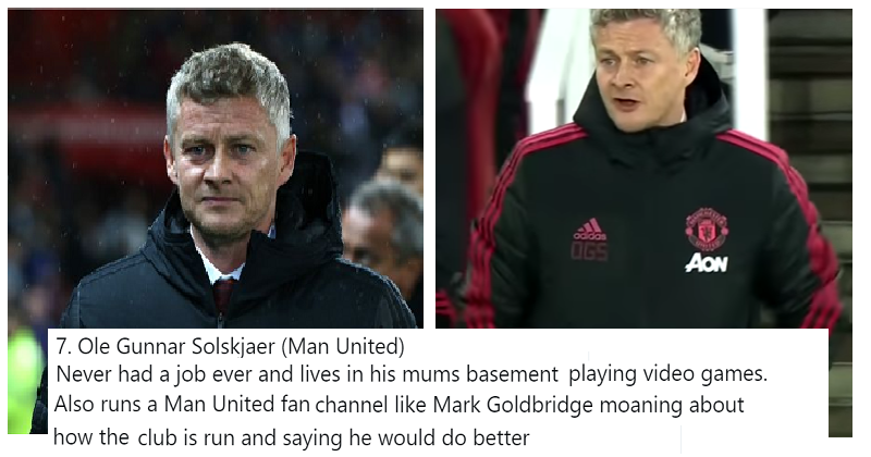 """""""If all Premier League managers had a normal job"""" - the thread you didn't know you needed"""