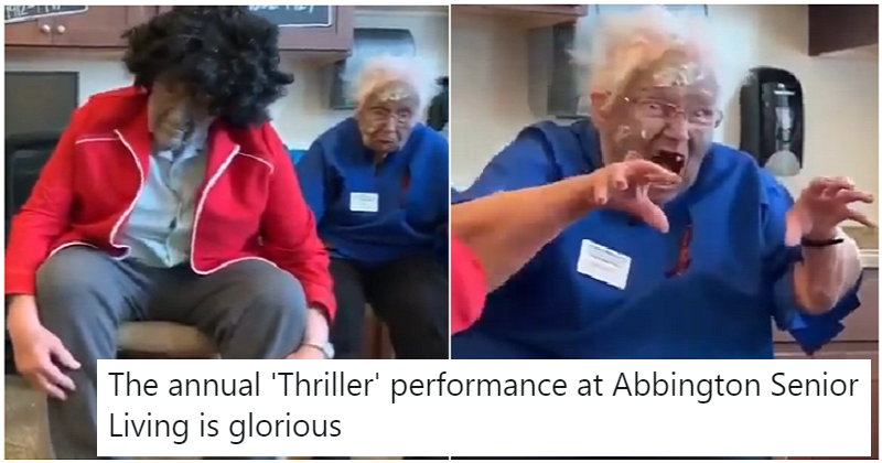 A group of pensioners performing Thriller is the Oddly Endearing Video of the Day