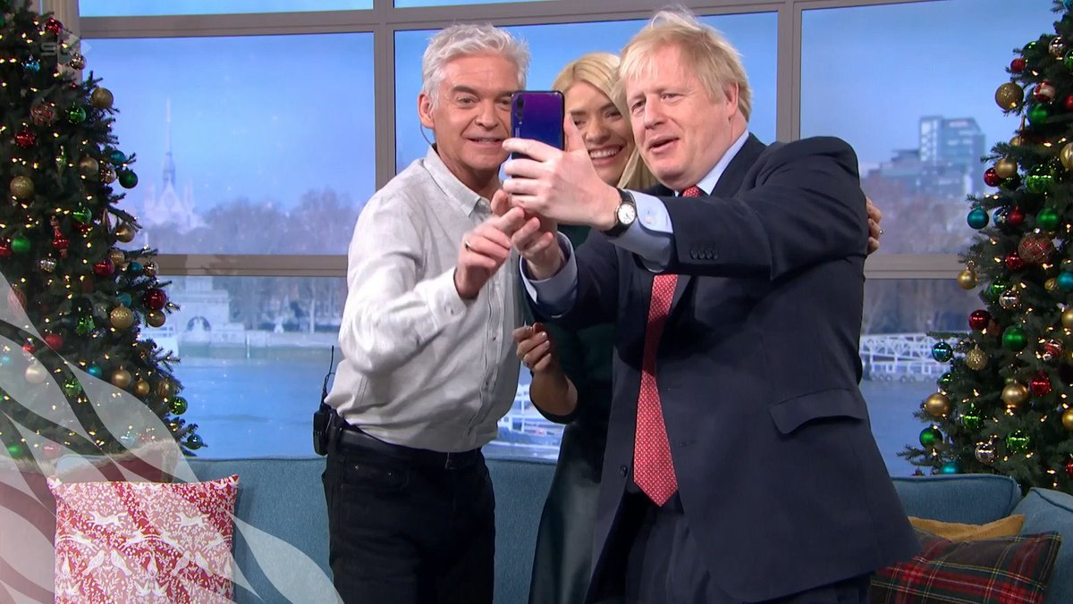 21 favourite things people said about Boris Johnson's selfie on This Morning