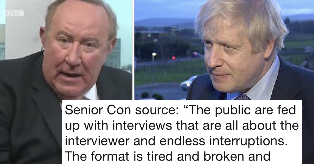 Boris Johnson's excuse for ducking his Andrew Neil interview is being destroyed with facts