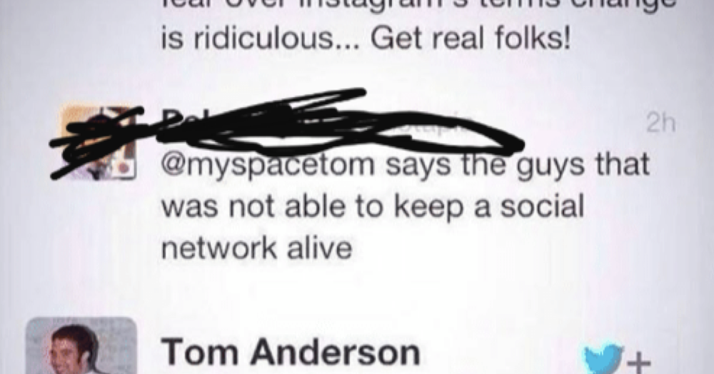 Tom Andersons comeback was so hot its gone viral all over again