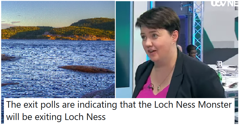 People were in a panic at the thought of naked Ruth Davidson in Loch Ness – the only 5 reactions you need