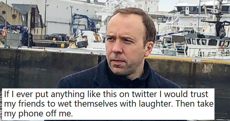11 hilarious reactions to Matt Hancock's moody campaign photo
