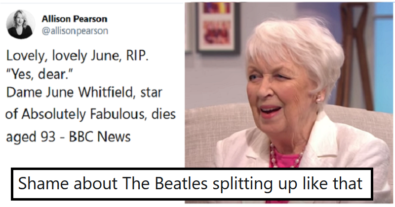 5 scathing reactions to this announcement of June Whitfields death a full year late