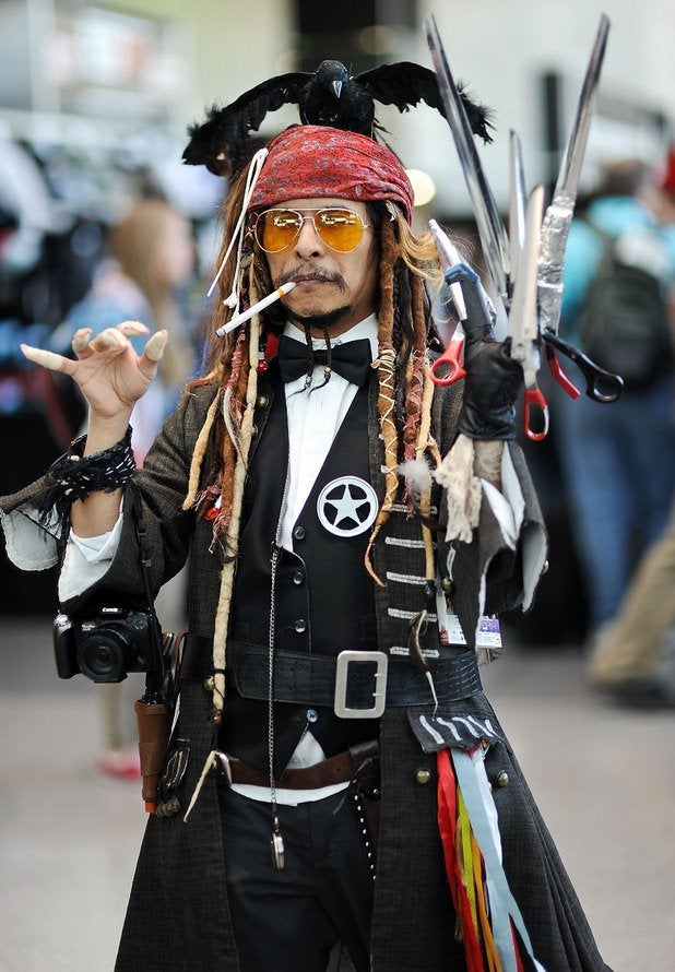 'Some guy decided to cosplay as Johnny Depp's character in a movie – ALL of them'