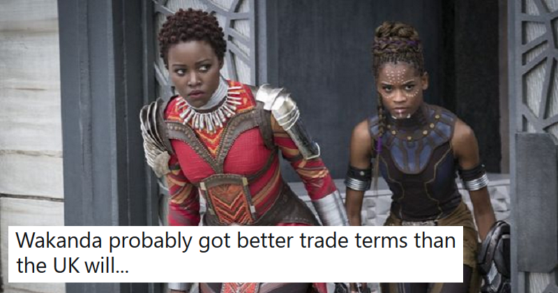 The US Department of Agriculture listed Wakanda as a trade partner  12 Marvellous reactions