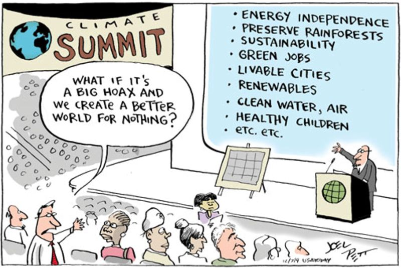 People reckon this climate change cartoon has never been bettered