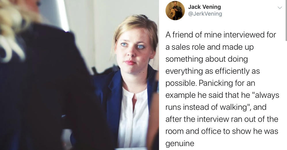 People have been sharing their nightmare job interviews – 13 absolute horrors