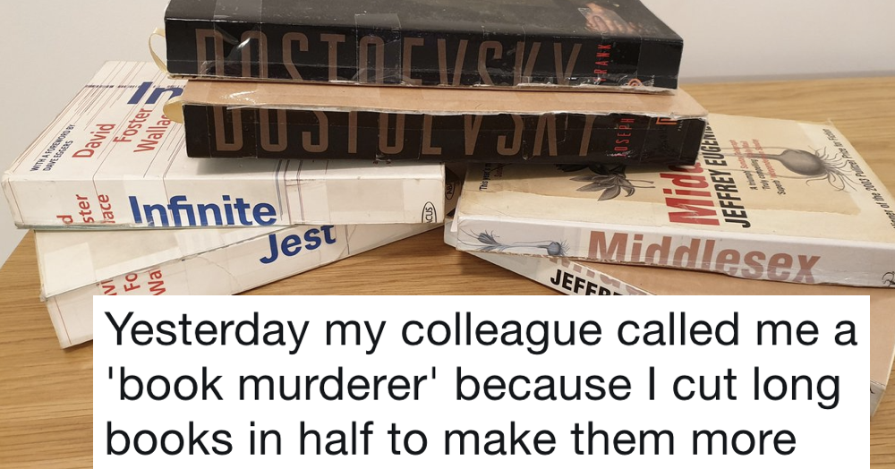 How this 'book murderer' makes long novels more portable united the internet in horror